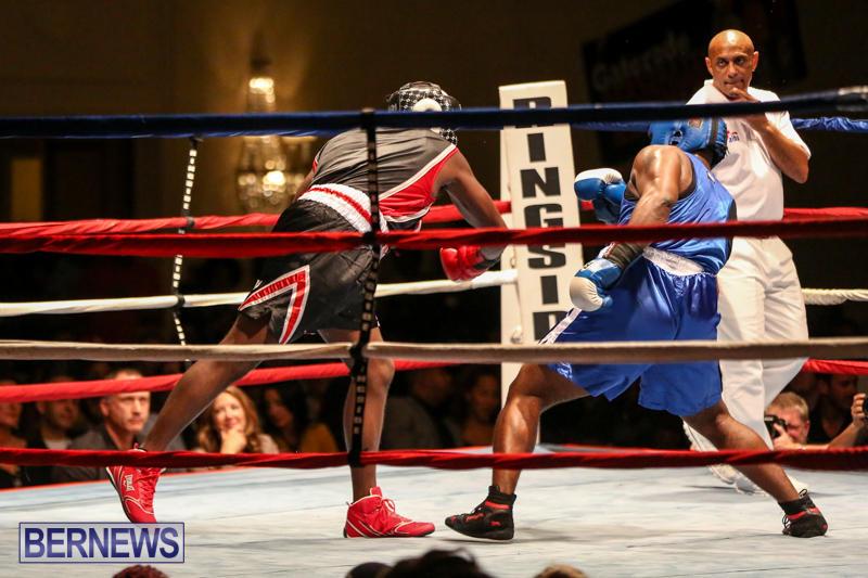 Shannon Ford vs Stefan Dill Boxing Match Bermuda, November 7 2015-9