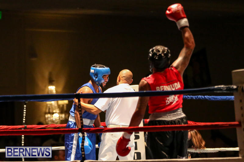 Zain Philpott vs Shomari Warner Boxing Match Bermuda, November 7 2015 (13)
