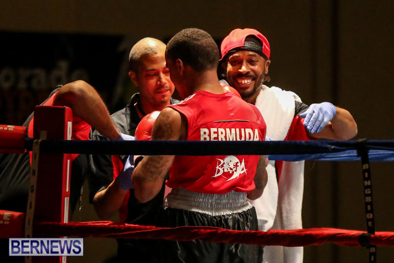 Zain Philpott vs Shomari Warner Boxing Match Bermuda, November 7 2015 (16)