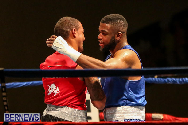 Zain Philpott vs Shomari Warner Boxing Match Bermuda, November 7 2015 (17)