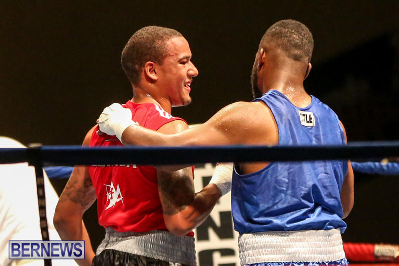 Zain Philpott vs Shomari Warner Boxing Match Bermuda, November 7 2015 (18)
