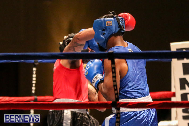Zain Philpott vs Shomari Warner Boxing Match Bermuda, November 7 2015 (2)