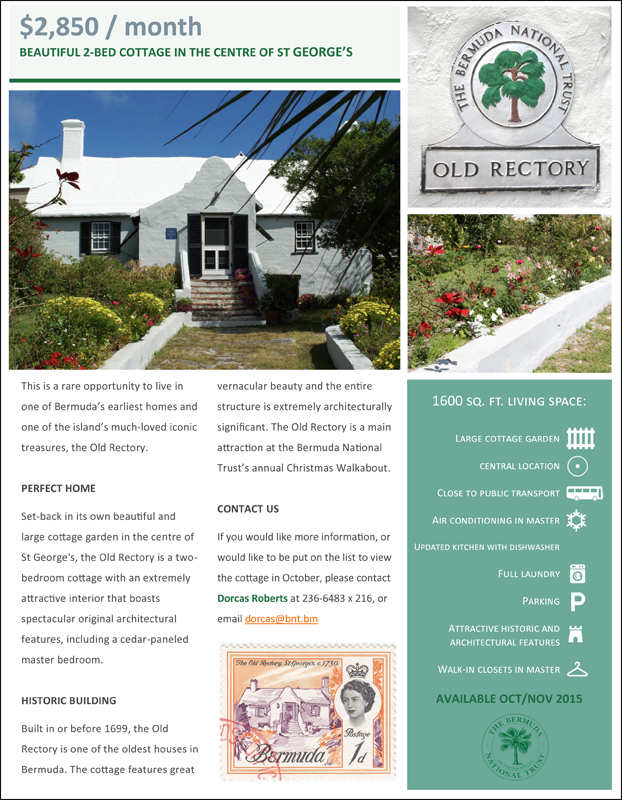 the Old Rectory Bermuda November 2015