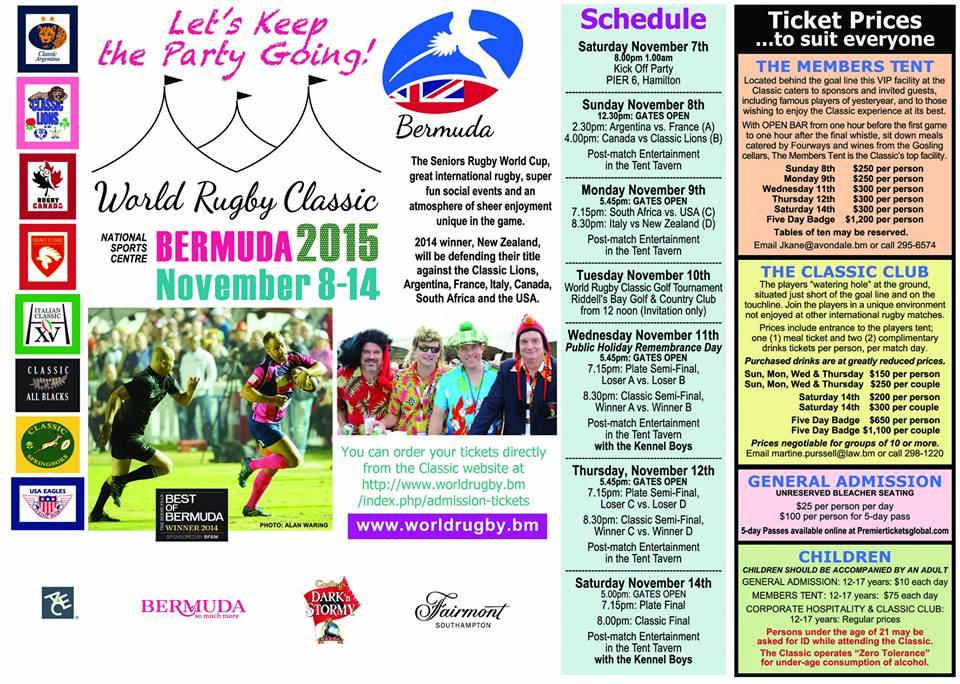 world rugby classic 2015 schedule bermuda