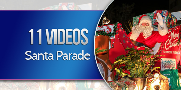 11 Videos Santa Claus Parade Bermuda Dec 1 2015 TC