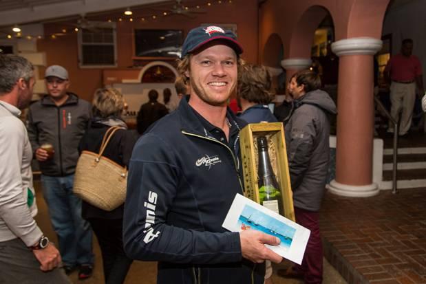 Artemis Racing helmsman Nathan Outteridge Bermuda Dec 6 2015