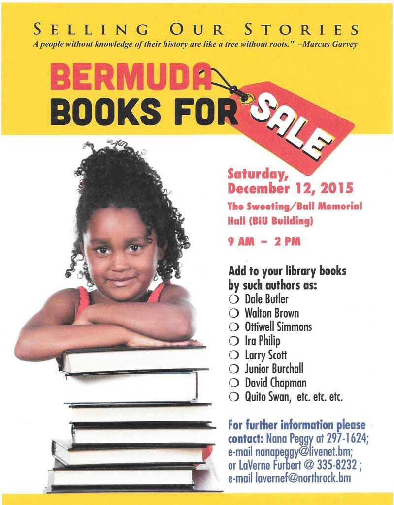 BERMUDA BOOKS FOR SALE