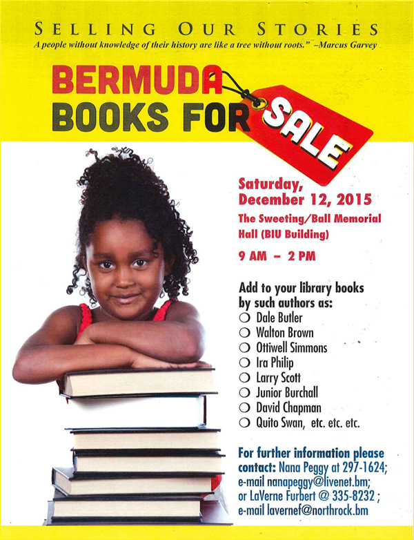 Book Sale Bermuda Dec 9 2015