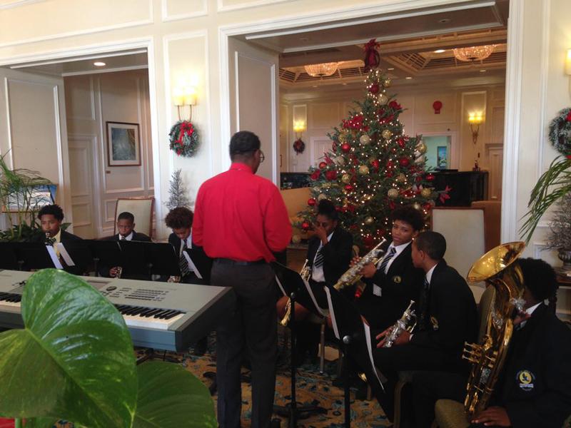 CMS Band Bermuda Dec 18 2015