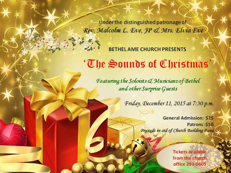 Christmas Flyer for Concert 2015