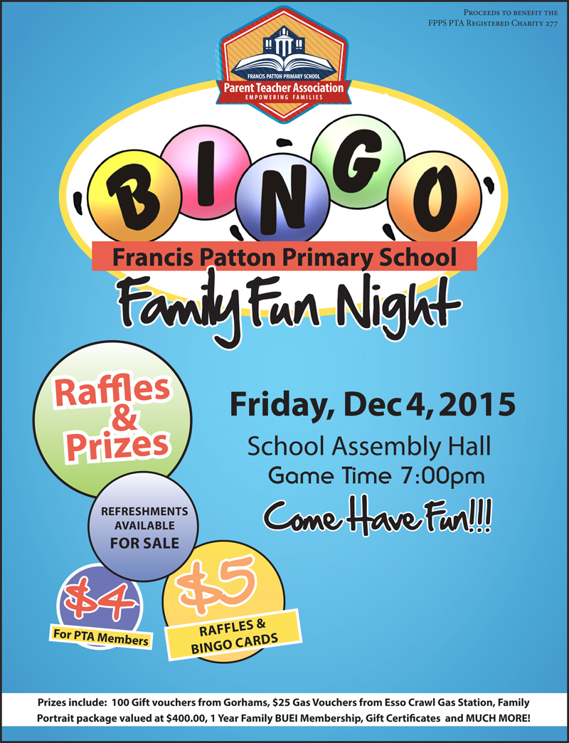 Family Fun Nigh BingoNight2015 Bermuda Dec 2 2015