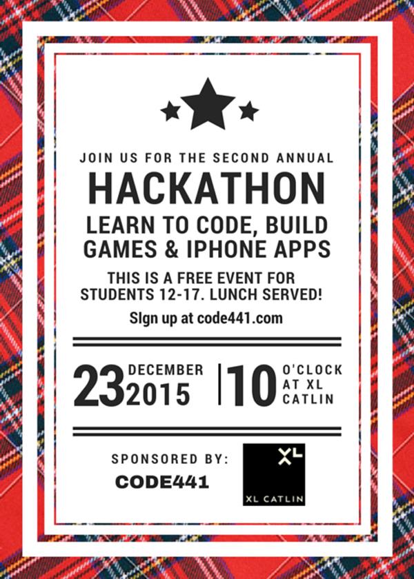 Holiday Hackathon Bermuda Dec 21 2015