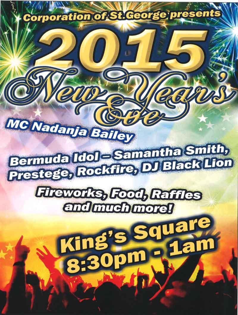 NYE 2015 poster