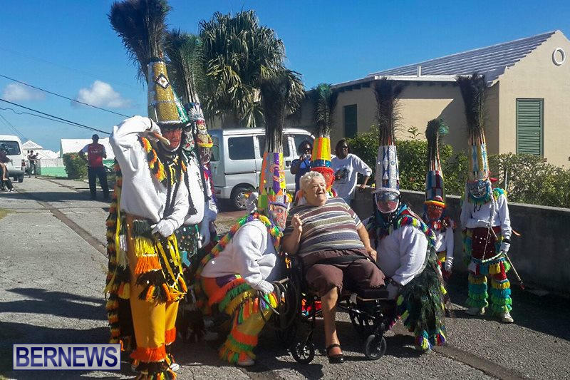 Warwick Gombeys Mary Burchall Bermuda, December 26 2015-1