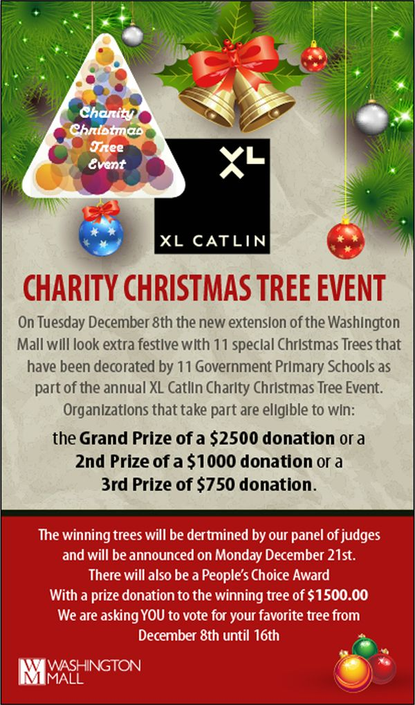 XL Catlin Charity Christmas tree event Bermuda Dec 10 2015