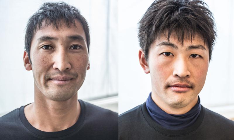 Yugo Yoshida and Yuki Kasatani SoftBank Team Japan Bermuda Dec 16 2015 (1)