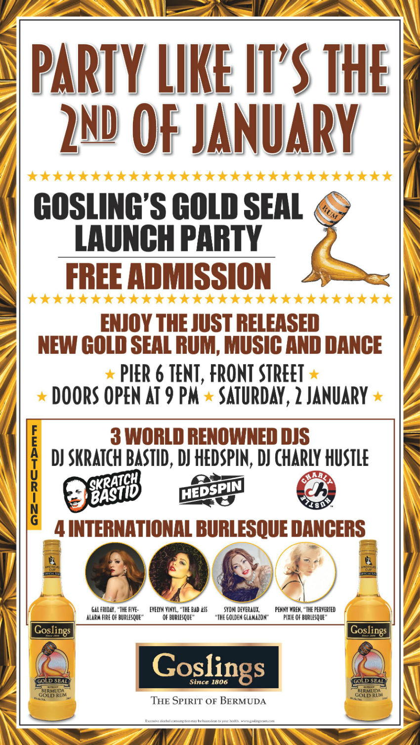 goslings-gold-seal-launch-party-poster