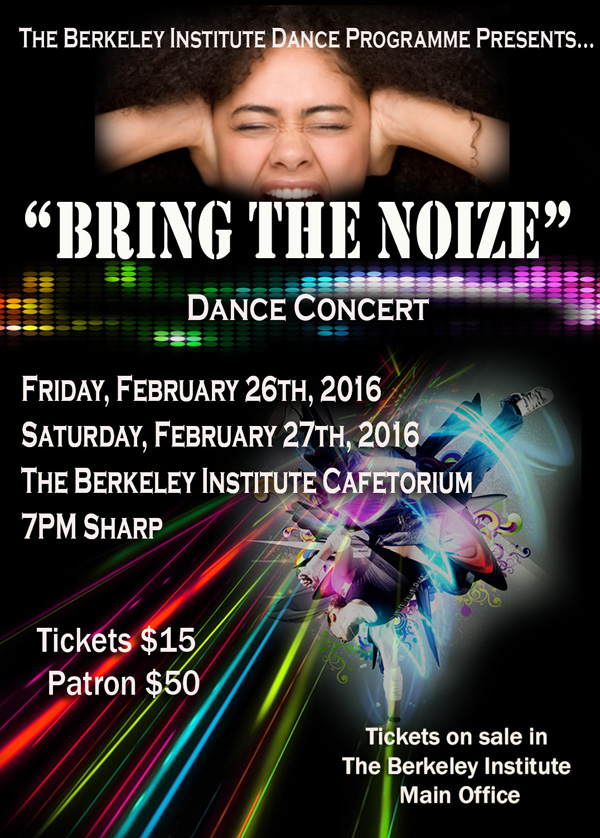 Bring the Noise Bermuda Jan 27 2016