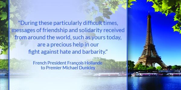 French President François Hollande to Premier Michael Dunkley TC-compressed