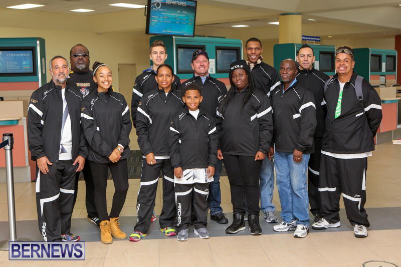 Gold Point Archery Team Bermuda, January 19 2016-1