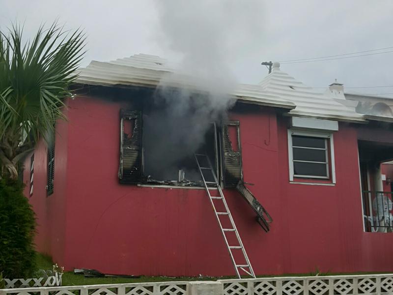 House Fire Bermuda, January 6 2016-3