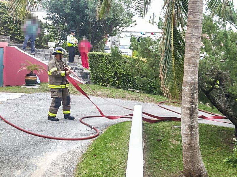 House Fire Bermuda, January 6 2016-5