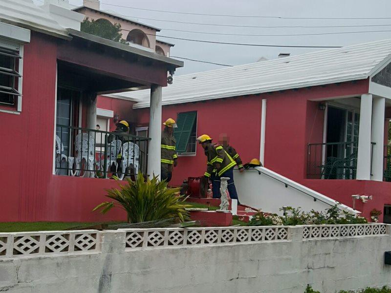 House Fire Bermuda, January 6 2016-6