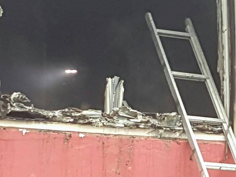 House Fire Bermuda, January 6 2016-7