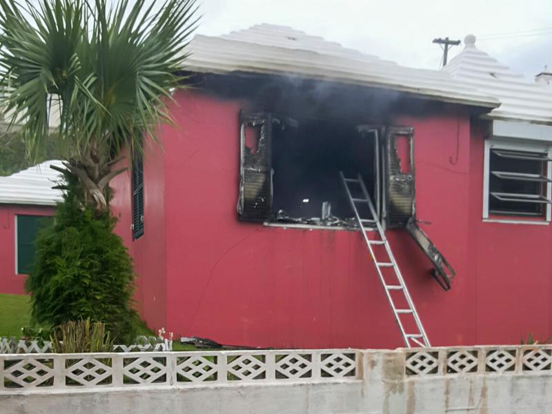House Fire Bermuda, January 6 2016-8