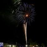 New Years Eve Fireworks St George's Bermuda, December 31 2015-6