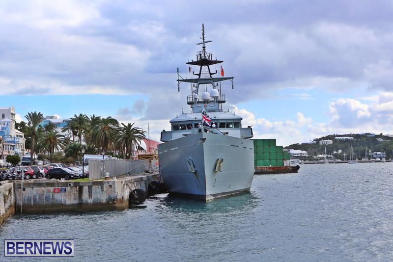 UK's Royal Navy Ship HMS Mersey Jan 16 2016 (2)