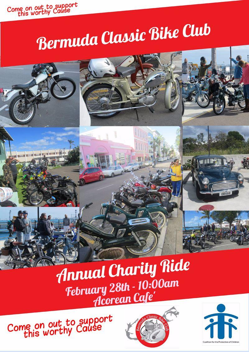 2016 BCBC Charity Ride Bermuda Feb 9 2016