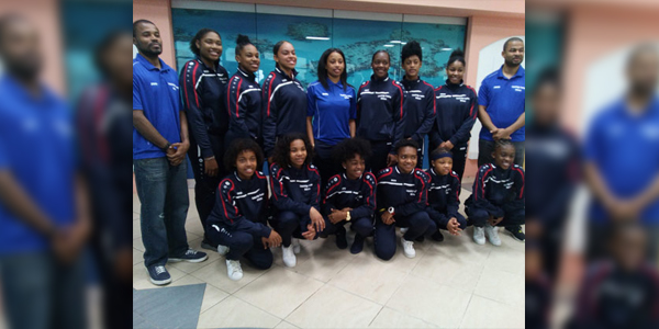 Cedarbridge Academy Ladies WildCats Bermuda Feb 12 2016