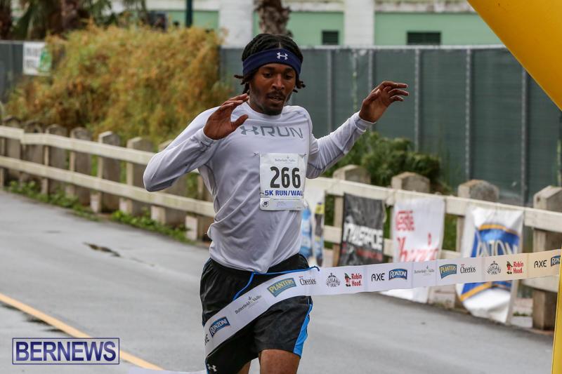 Chayce Smith Butterfield & Vallis 5K Run Walk Bermuda, February 7 2016