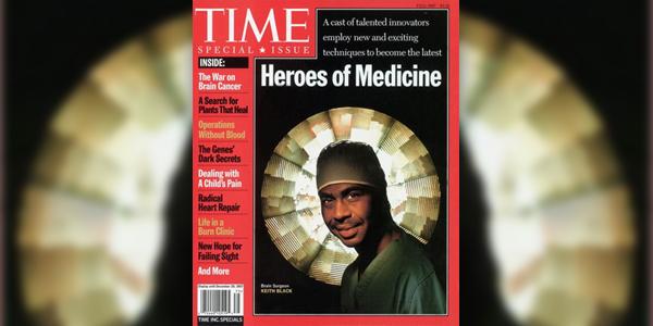 Dr. Keith Black cover of Time Magazine Bermuda Feb 10 2016