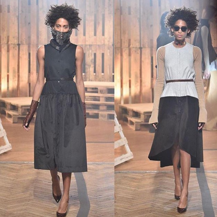 Lily Takes On London Fashion Week Feb 26 2016 (5)