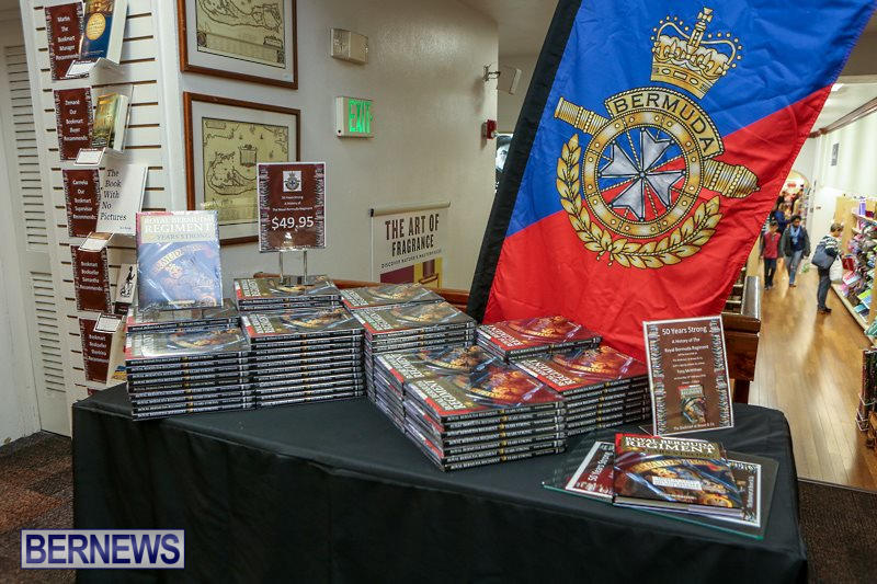 Royal Bermuda Regiment Book Launch, February 13 2016-6