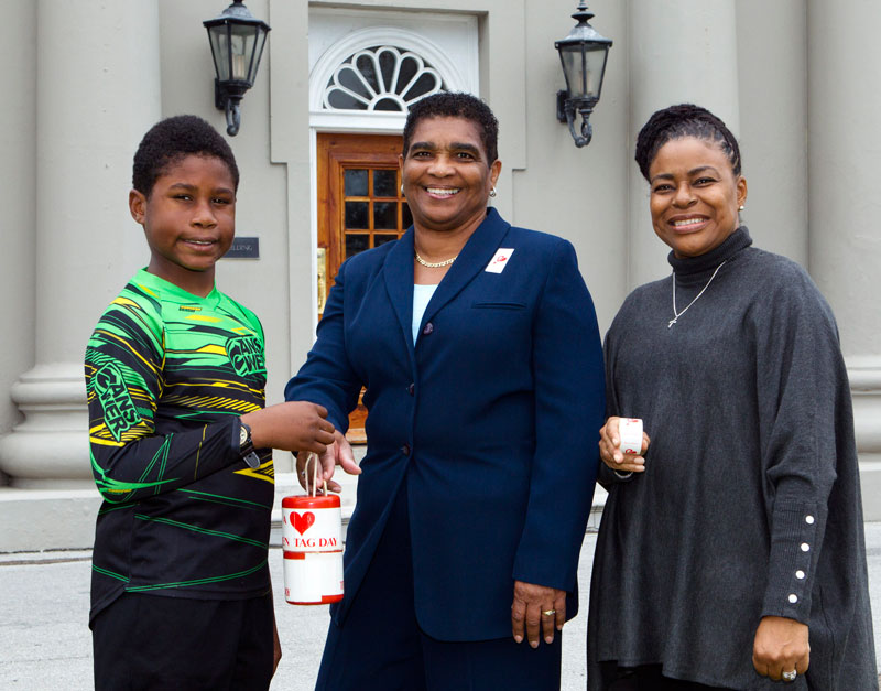 Teen Haven Celebrates Tag Day Minister Pamplin