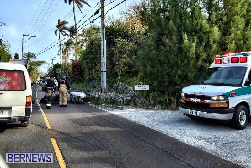 Accident Bermuda, March 18 2016