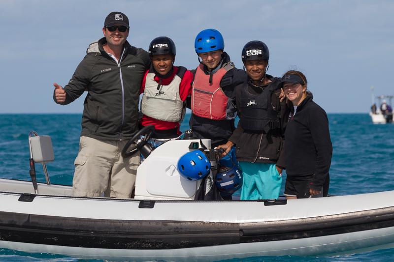 12th March 2016. Hamilton, Bermuda. M32 training