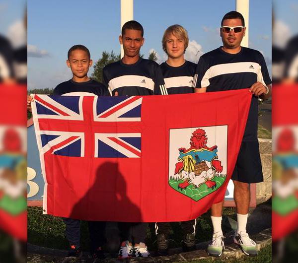 Boys U14 Tennis Bermuda March 9 2016 2
