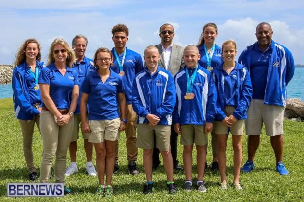 CARIFTA Swim Team Bermuda, March 28 2016-1