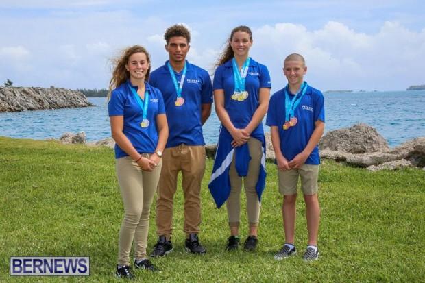 CARIFTA Swim Team Bermuda, March 28 2016-4