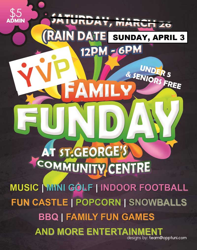 Family Fun Day At St Georges Community Centre
