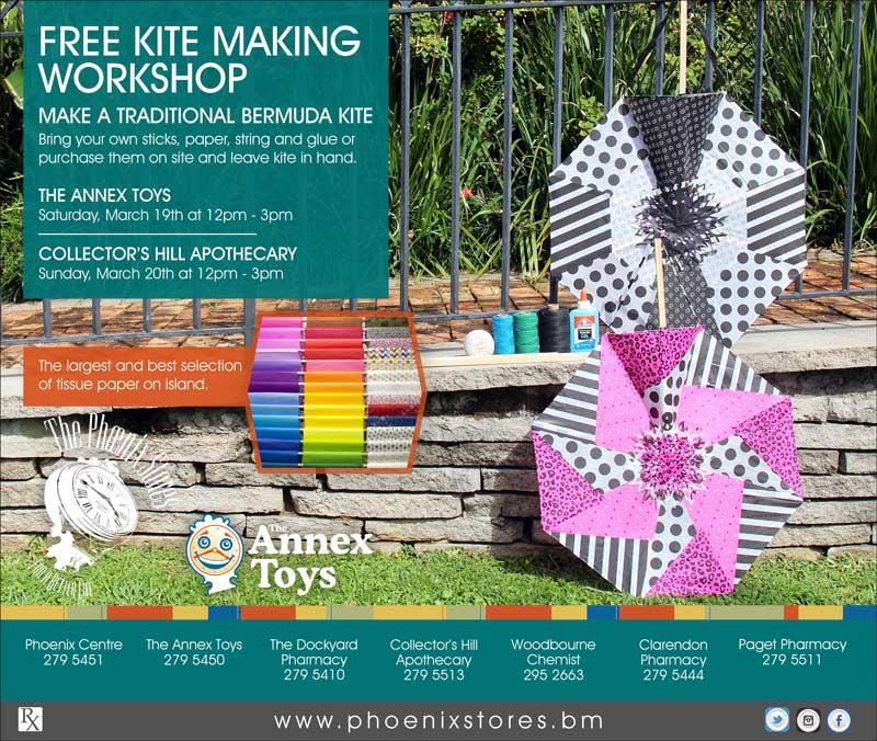 Free Kite Making Workshops