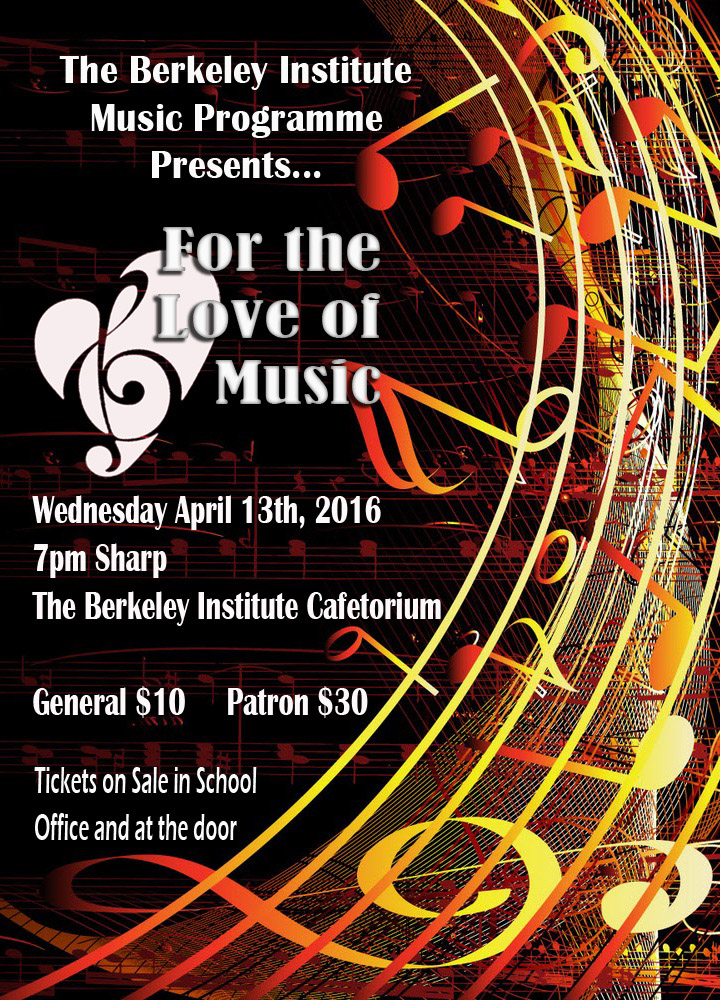 Music Concert 2016 Bermuda March 23 2016