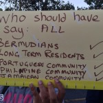 Protesters On East Broadway Bermuda Mar 1 2016 (15)