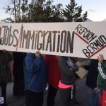 Protesters On East Broadway Bermuda Mar 1 2016 (19)