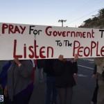 Protesters On East Broadway Bermuda Mar 1 2016 (20)