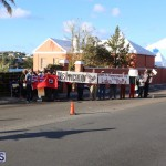 Protesters On East Broadway Bermuda Mar 1 2016 (32)